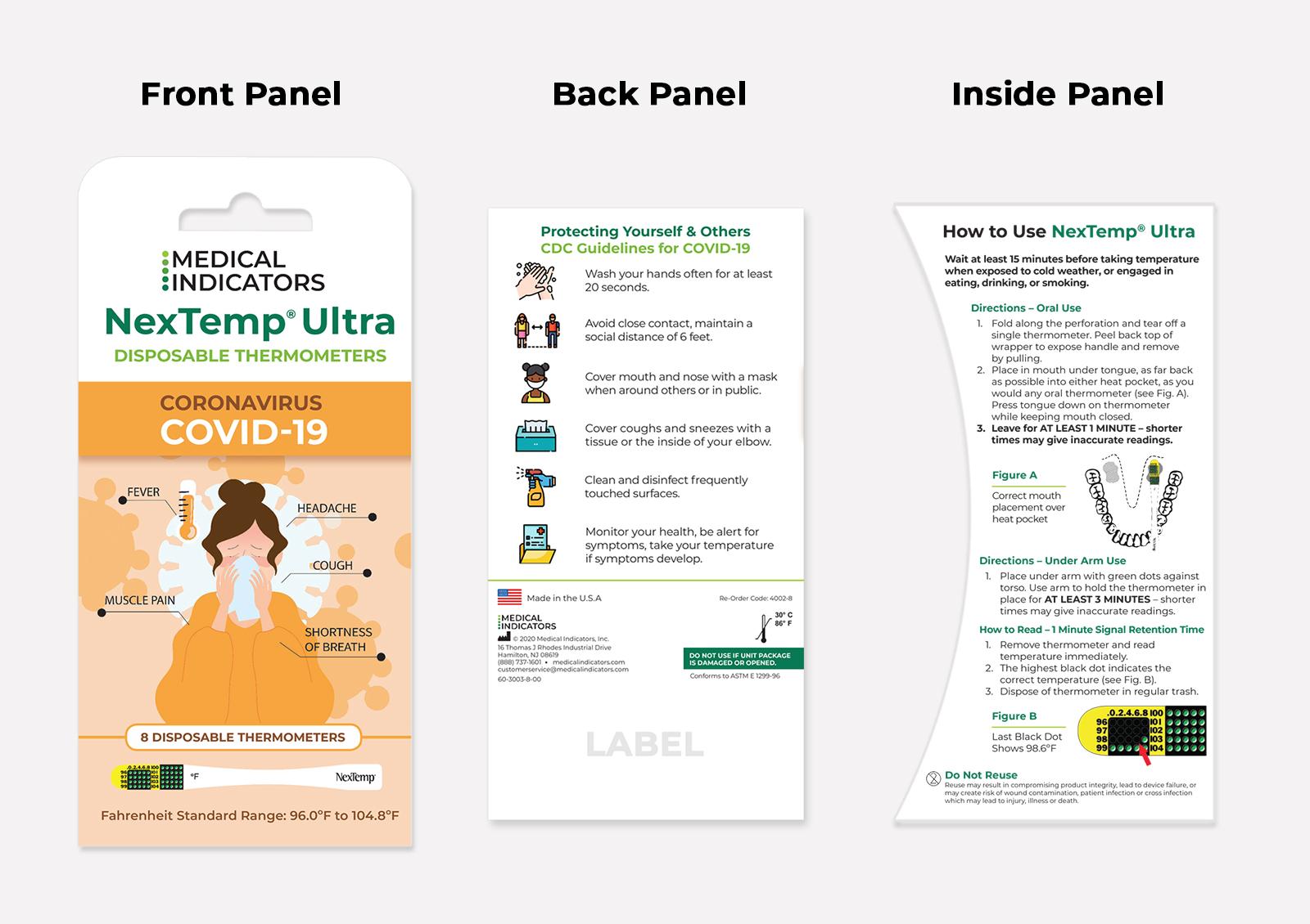 NexTemp Ultra Promo Pack